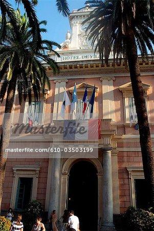 France, Corsica, Ajaccio, city hall.