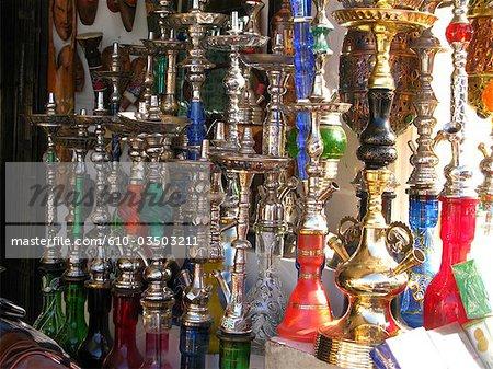 Égypte, boutique de souvenirs.