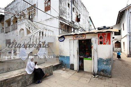 Tanzanie, Zanzibar (île d'Unguja), ville de Zanzibar, Stone Town.