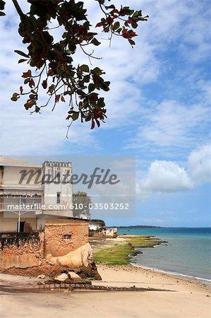 Tanzania, Zanzibar (Unguja island), Zanzibar city, Stone Town, seaside.