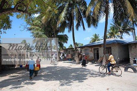 Tanzanie, Zanzibar (île d'Unguja), village de Nungwi.