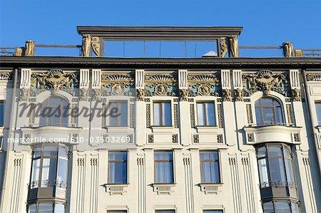 Russia, St Petersburg, Nevsky prospekt.