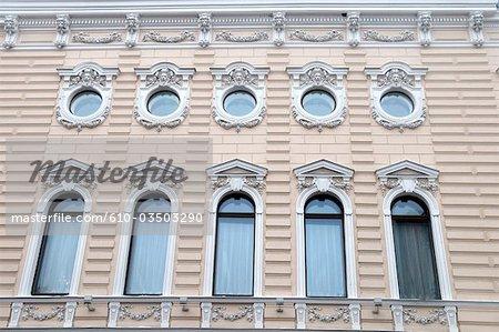 Russia, St Petersburg, facade.