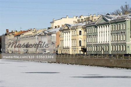 Russie, Saint-Pétersbourg.