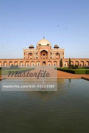 India, New Delhi, Humayun's tomb.