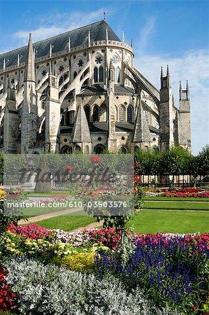 France, cathédrale de Bourges, Centre