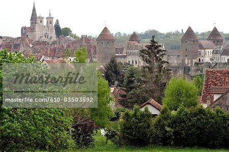 France, Burgundy, Semur en Auxois