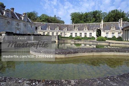 France, Normandy, Vernon, castle of Bizy