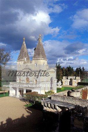 France, Centre, château d'Anet, la chapelle