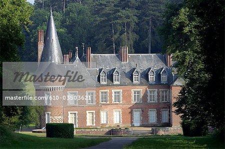 France, Centre, château de Maillebois