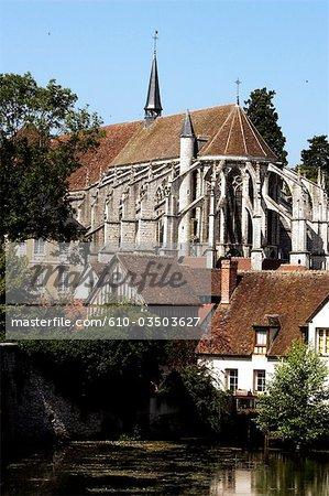 France, Centre, Chartres, Saint Andre collégiale