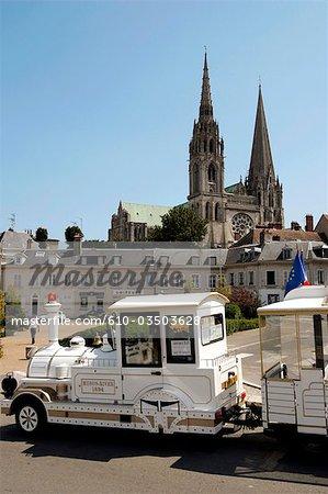 France, Centre, Chartres, la cathédrale