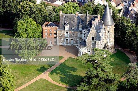 France, Centre, château de Courtelain