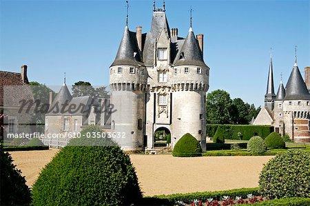 France, Centre, château de Fraze