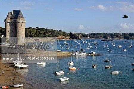 France, Bretagne, Saint Malo, tour Solidor
