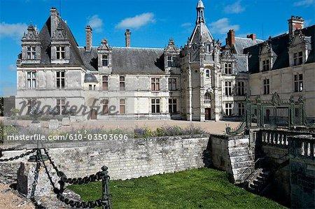 France, Centre, Saint Aignan, le château