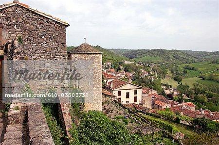 France, Languedoc, Albi, remparts