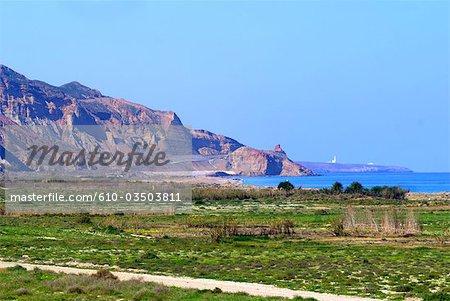 Morocco, coast between Al Hoceima and three forks cape