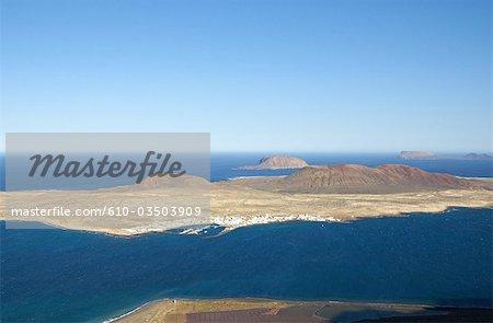 Espagne, Iles Canaries, Lanzarote et Graciosa