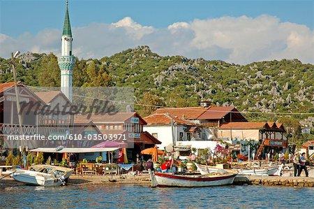 Île de Turquie, la Lycie, Kekova, Uagiz