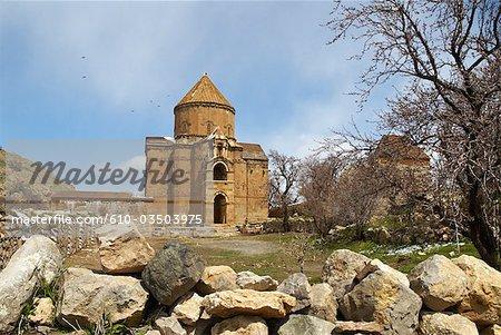 Île de Turquie, lac de Van, Akdamar, Église arménienne