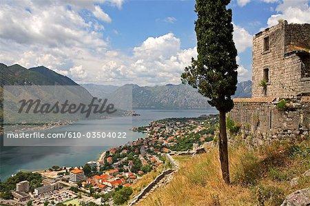 Montenegro, Kotor and the bay of Kotor