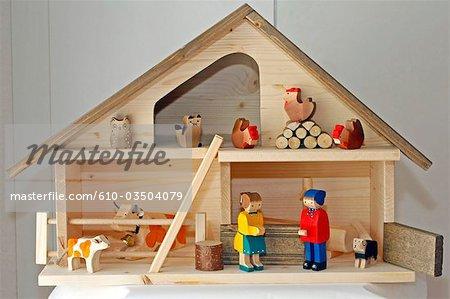 Switzerland, Geneva, toyshop