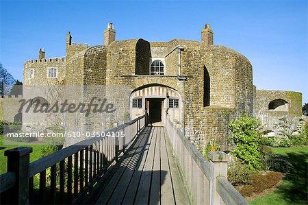 Angleterre, Kent, Walmer, le château