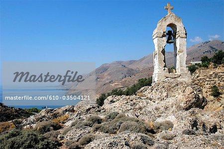 Grèce, Crète, Chora Sfakion, chapelle