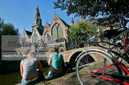 La Hollande septentrionale, Amsterdam, Oude Kerk