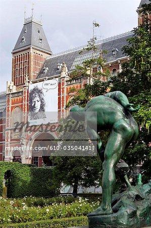 La Hollande septentrionale, Amsterdam, Musée nationale