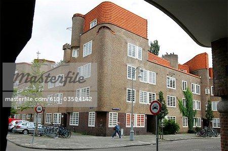 La Hollande septentrionale, Amsterdam, quartier de Dageraad