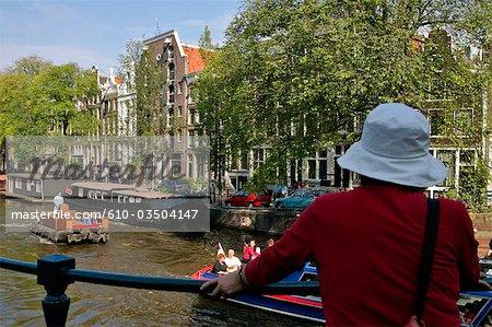 La Hollande septentrionale, Amsterdam, canaux