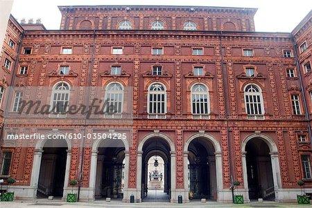 Italie, Turin, Palazzo Carignano