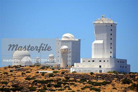 Espagne, Iles Canaries, Tenerife, parc national de Teide, Observatoire astronomique