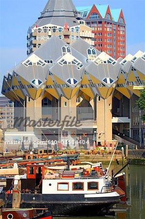 The Netherlands, South Holland, Rotterdam, Kijk-Kubus