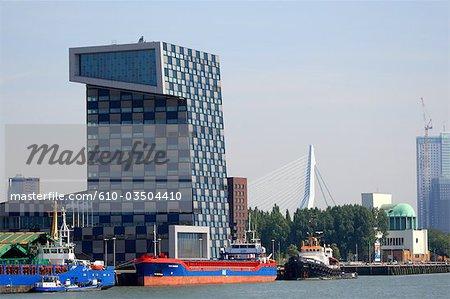 Le pays-bas, Hollande-méridionale, Rotterdam, le port