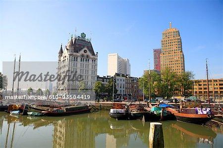 Pays-Bas, Rotterdam, Hollande-méridionale, la maison blanche (het witte huis)