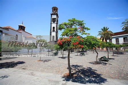 Spain, Canary islands, Tenerife, Santa Cruz, Iglesia la Conception