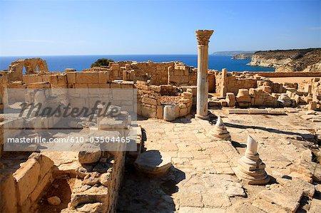 Chypre, site archéologique de Kourion