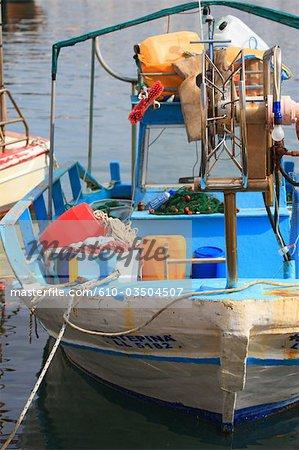Chypre, Paphos, le port