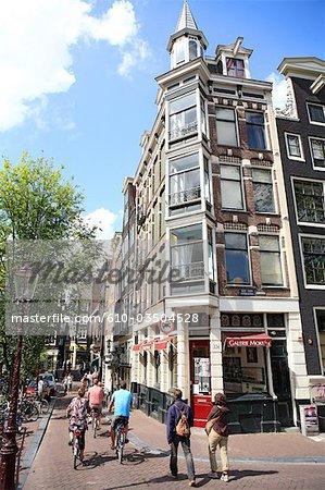 Construction de la Hollande septentrionale, Amsterdam,