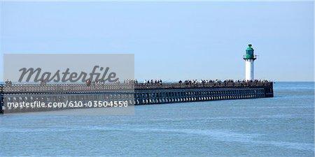 France, Pas-de-Calais, Calais, the pier