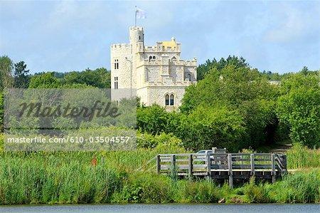 France, Pas-de-Calais, castle of Hardelot