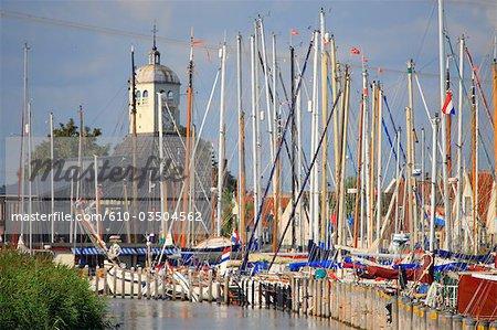 La Hollande septentrionale, Dugerdam, port
