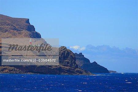 Espagne, Iles Canaries, la Gomera, San Sebastian