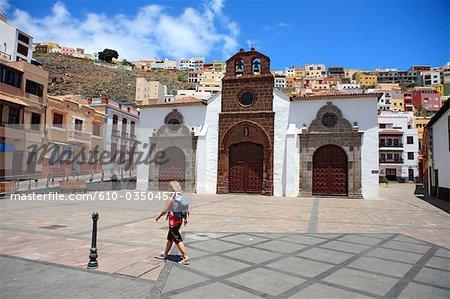 Spain, canary islands, Gomera, San Sebastian, iglesia de la Asunción