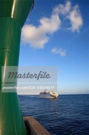 Navire de croisière de la Gomera, San Sebastián, Espagne, Iles Canaries,