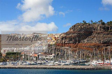 Spain, canary islands, Gomera, San Sebastian