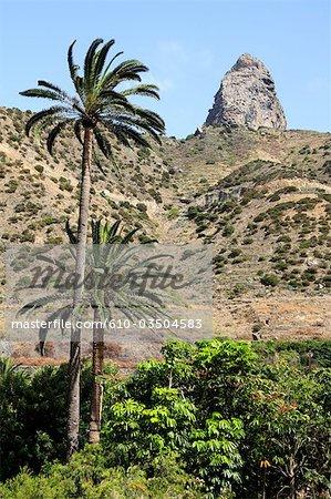 Spanien, Kanarische Inseln, Gomera, Vallehermoso